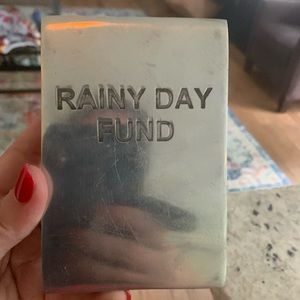 Bombay duck aluminum rainy day fun piggy bank